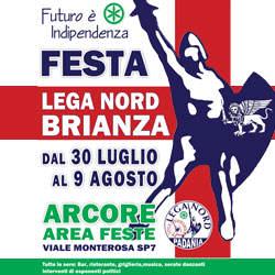 Festa Lega Nord Brianza