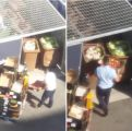 Gettati quintali di cibo, video shock al Lidl