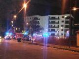 Incendio in via Adda, intervengono i pompieri