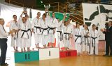 Campionati assoluti di karate, Shotokan Ryu protagonista (in rosa)