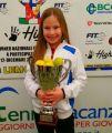 Tennis, la piccola Carla trionfa a Roma in un torneo internazionale