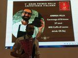 Gran Premio nazionale Caffetteria, Andrea Villa fa trionfare la Brianza