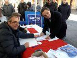 Rincari Tangenziale, Fontana firma a Concorezzo la petizione popolare