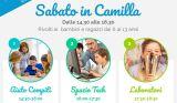 Non solo compiti: per bimbi e ragazzi il sabato in Camilla