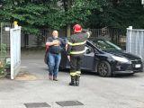 Vigili del fuoco, tutti in piedi per Stefano Piazza