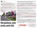 """Metro, Rondine: """"Perchè Capitanio non ha firmato l'appello?"""""""