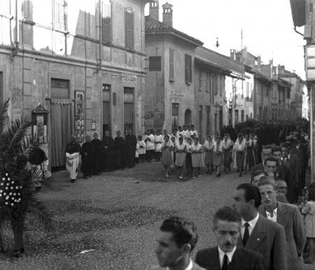 Corteo funebre, foto Archivio storico