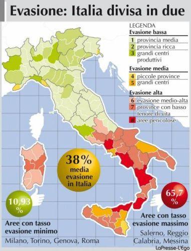 Evasione fiscale in Italia