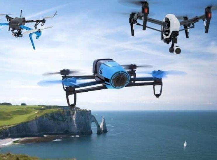 I droni sorvegliano il verde e non solo