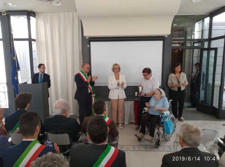 Medaglia d'onore a Lissoni vittima del nazismo