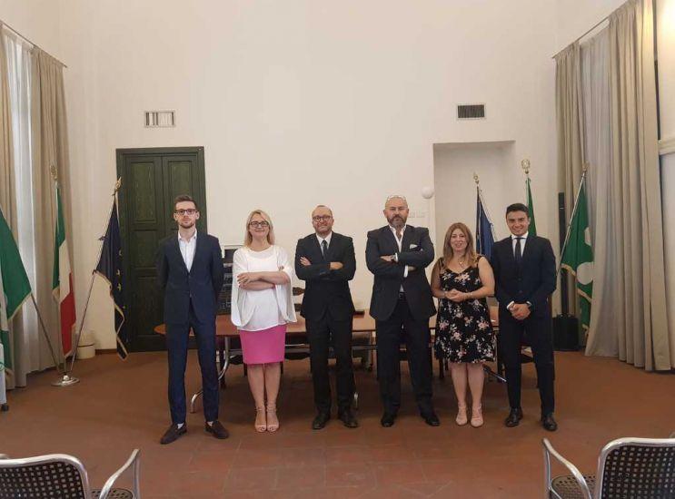 Il sindaco Capitanio presenta la sua Giunta