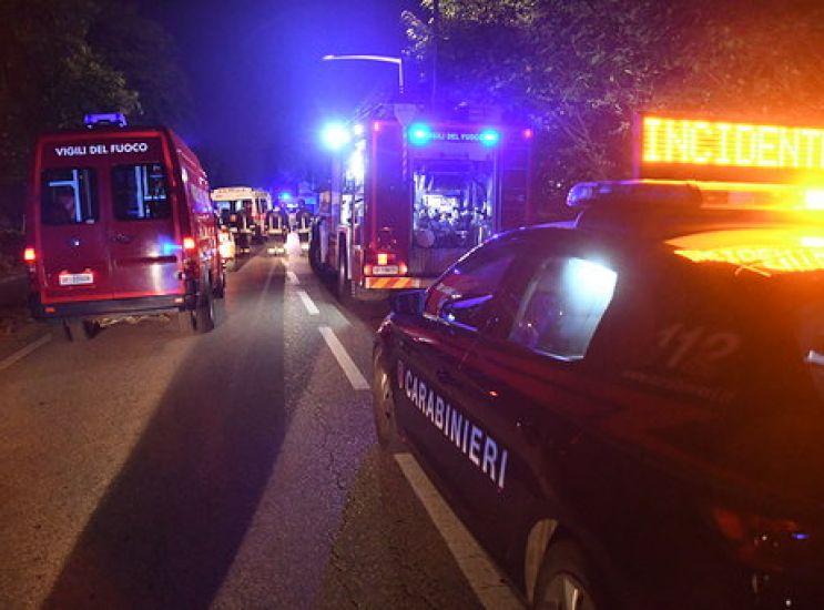Grave incidente in moto in don via Minzoni